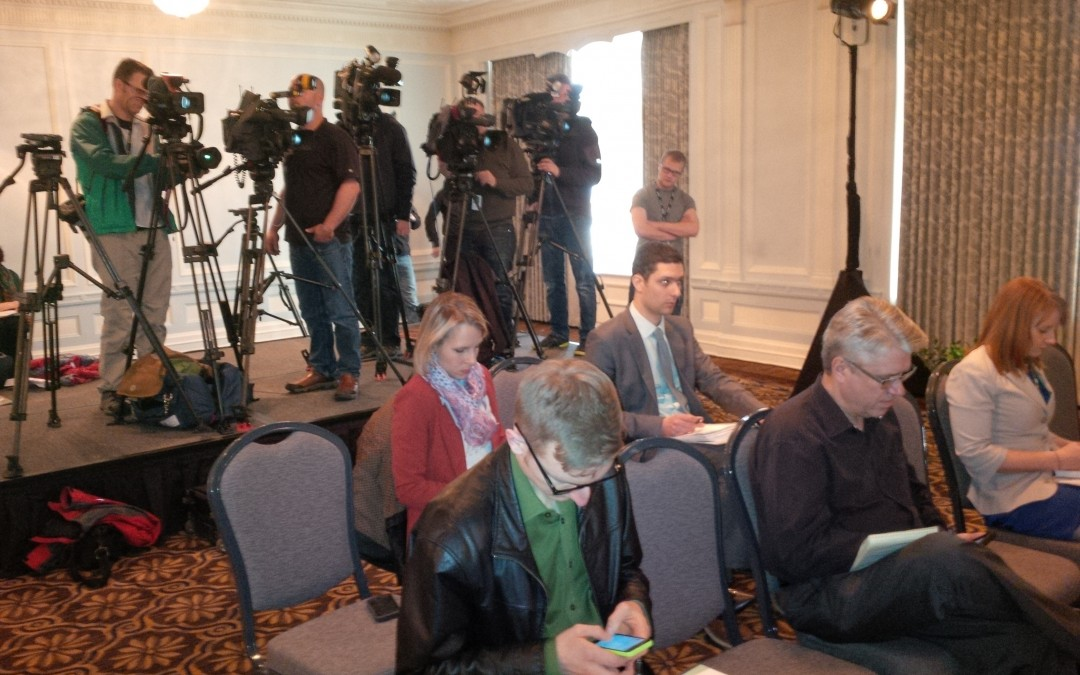 Photos from the Food Safety press conference in Edmonton